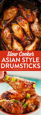 asian chicken drumsticks in the slow cooker recipe crockpot