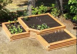 Garden Box Ideas Outstanding Garden Box Ideas Corner Layered Gardening Pinterest
