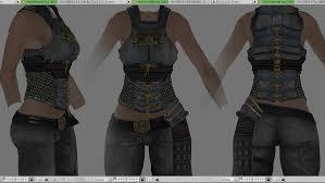 Skyrim Light Armor Mods Female Blades Light Armor At Skyrim Nexus Mods And Community