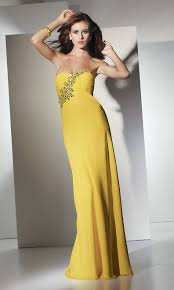 strapless yellow wedding guest dresscherry marry cherry marry