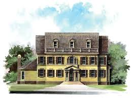Colonial Revival House Plans 11 Best Colonial Revival Images On Pinterest Colonial Colonial