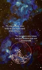 book wallpaper to the stars who listen and the dreams that are answered