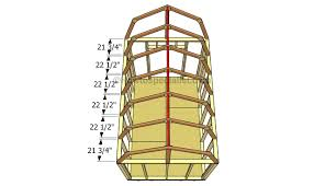installing the trusses barn pinterest gambrel roof gambrel