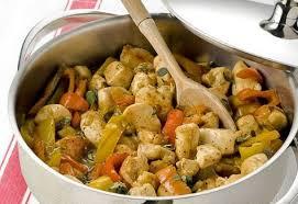 plat facile a cuisiner et rapide poitrine de poulet aux poivrons weight watchers un plat très facile