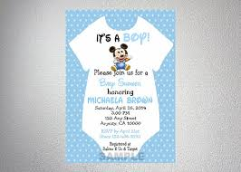 mickey mouse baby shower invitations baby mickey mouse onesie boy baby shower by dpiexpressions on etsy