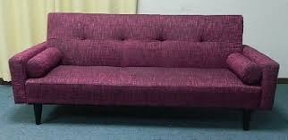 rome faux leather convertible futon sofa bed and chair value