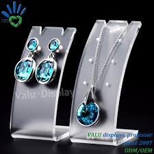 necklace earring display images China acrylic plexiglass jewelry necklace earring jewelry stand jpg