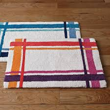 Square Bath Rug Ribbon Square Bath Rug The Company Store