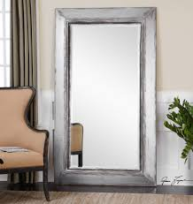 White Framed Mirror Furniture Mesmerizing Oversized Floor Mirror For Home Furniture