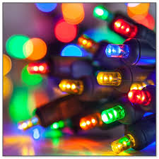 operated colored lights
