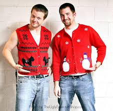 The Ugly Christmas Sweater Party - how to host an ugly holiday sweater party and fundraiser the