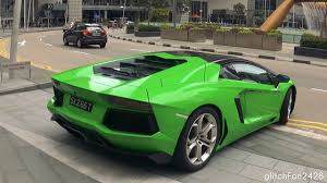 wrapped lamborghini apple green wrapped lamborghini aventador youtube