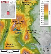 Map Utah Elevation Map Utah New York Map