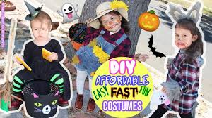 diy halloween kids costumes easy diy witch diy scarecrow diy