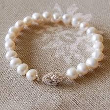 rose pearl bracelet images Vintage style pearl bracelet by highland angel jpg