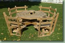 Octagon Patio Table Plans Fd Octagonal Picnic Table Plans