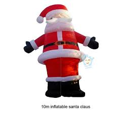 Inflatable Christmas Decorations Outdoor Cheap - outdoor christmas decorations giant inflatable santa claus 10m