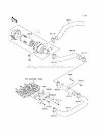kawasaki kaf950 b2 parts list and diagram 2004
