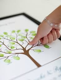 guestbooks for weddings wedding tree no 1 thumbprint guestbooks thumbprint wedding trees