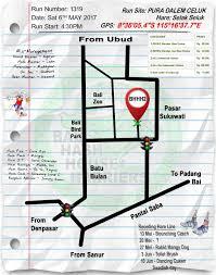 Run Map Home Bali Hash 2