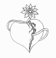 38 best broken heart tattoo designs drawings images on pinterest