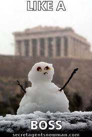 Snowman Meme - like a boss snowman memes pinterest snowman meme and memes