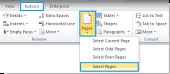 Vba Word Count Pages In Document How To Select A Range Of Pages From Whole Document In Word