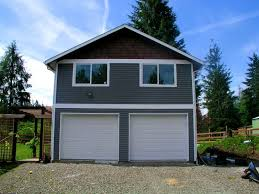richmond2 garage building designs story with living house plan