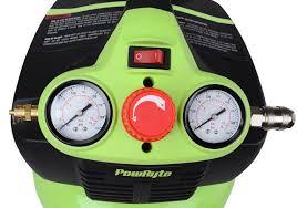 powryte 500041 elite 3 gallon oil free pancake portable air