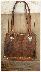 Hair On Cowhide Purse Hair On Cowhide Bag With Horse Reins Lined With Leather And 2