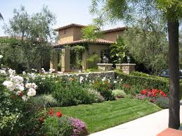 front yard landscaping ideas designed by green grass yard with