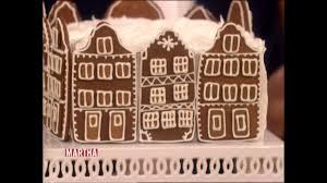 Isaac Mizrahi Sheets Video Making A Gingerbread Town Square Cake With Isaac Mizrahi