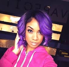 ombre hair color fro african american women african american purple hair google search hair pinterest