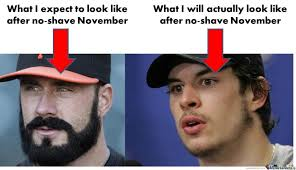 No Shave November Meme - 7 things no one tells you about no shave november