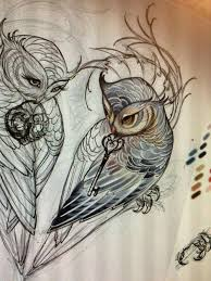 Owl Tattoos - 110 best owl tattoos ideas with images owl couples and