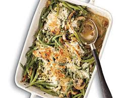 green bean casserole with madeira mushrooms recipe myrecipes