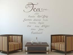 Esszimmer Farben Bilder Wandtattoo Küchen Sprüche It S Tea Time Nr 1 Wandtattoo Bilder De