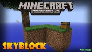 Skyblock Map Download Skyblock For Minecraft Pe Minecraft Pe