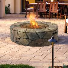 Oriflamme Sahara Fire Table by Articles With Fake Rock Fire Pit Tag Extraordinary Faux Fire Pit