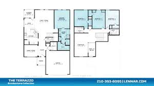 Lennar Homes Floor Plans by The Terrazzo Model At Voss Farms Brookstone New Home Collection