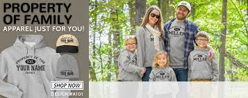 property of family personalized shirts and hats inkpixi