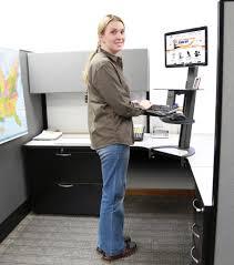 Standing Or Sitting Desk Taskmate Go Standing Desk Computer Standing Desk