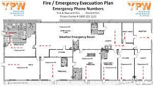 weather emergency room classroom 1 classroom 2 classroom 3