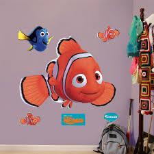 finding nemo wall decals roselawnlutheran finding nemo aquarium 3d wall art sticker decal boy girl bedroom wall stickers wsd80