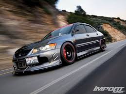modified mitsubishi lancer 2000 lancer evo 9