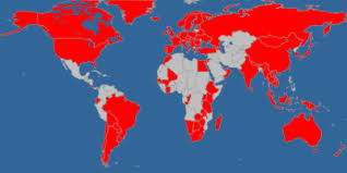 countries visited map your own countries visited map common sense and whiskey