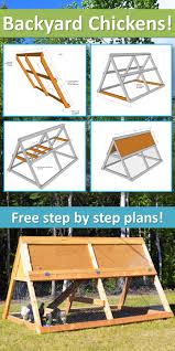 a frame wooden chicken coop with run u2014 2 to 3 hens coops hens
