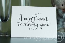 wedding card to groom wedding card to your or groom i can t wait to