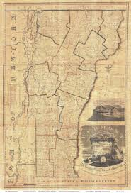 State Of Vermont Map by Whitelaw U0027s Map Of Vermont 1821
