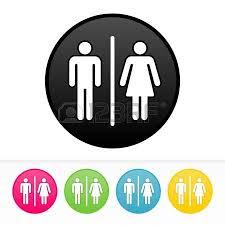 Bathroom Symbols 26 202 Restroom Sign Cliparts Stock Vector And Royalty Free